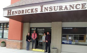 Hendricks Insurance Agency's office location in Osakis, MN